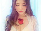 玫瑰美女魅惑写真图片 曼妙身材令人垂涎