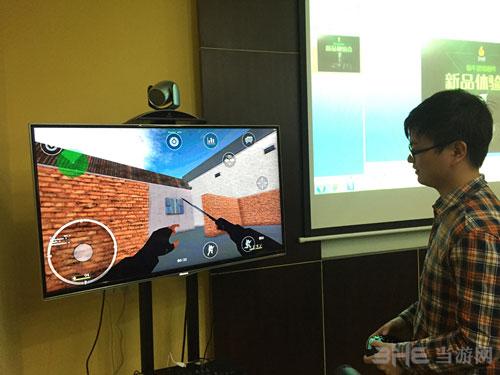 近期OBOX体验会上玩家试玩CS
