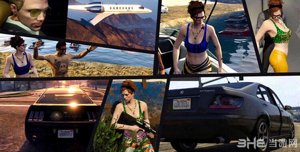 《GTA5/侠盗猎车5》PC版预购奖励