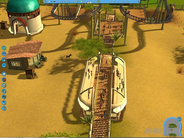 过山车大亨3水上乐园+野生动物园