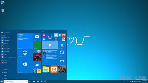 Windows 10界面