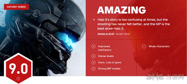 光晕5守护者IGN评分1