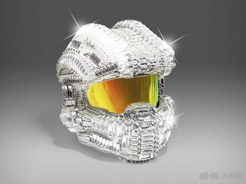 施华洛世奇水晶版士官长头盔1