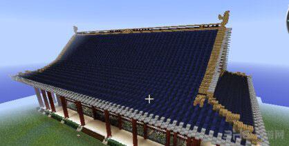 我的世界中式屋顶怎么造 中式屋顶建造方法分享图片