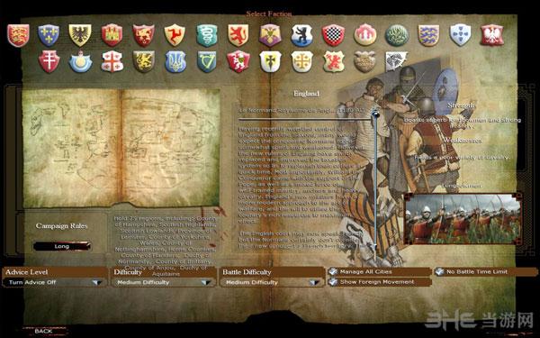 中世纪2因父之名平衡战场截图1