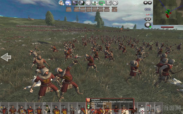 中世纪2因父之名平衡战场截图2