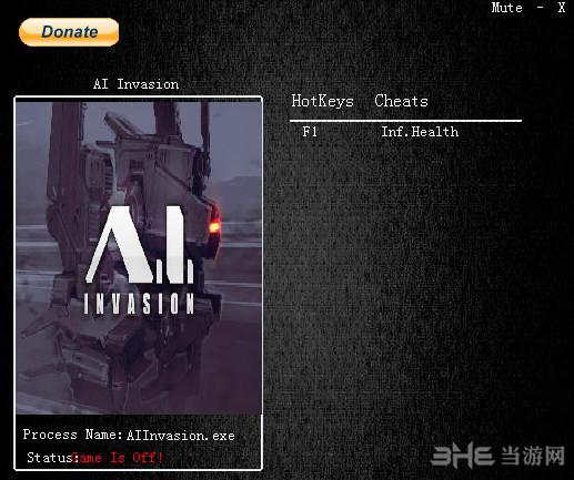 A.I.入侵一项修改器截图0