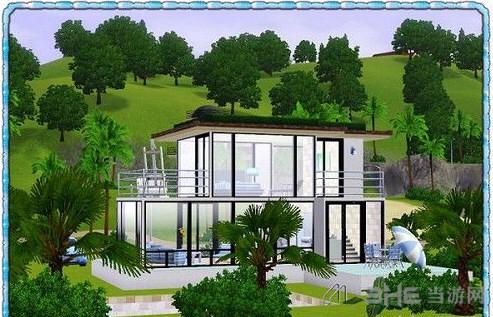 模拟人生3蓝之初夏房屋MOD截图1