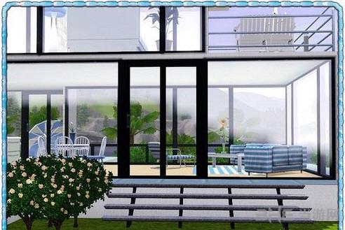 模拟人生3蓝之初夏房屋MOD截图0