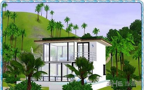 模拟人生3蓝之初夏房屋MOD截图2