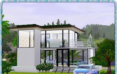 模拟人生3蓝之初夏房屋MOD截图3