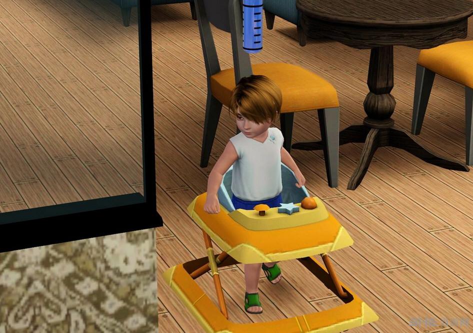 模拟人生3婴儿学步车MOD截图1