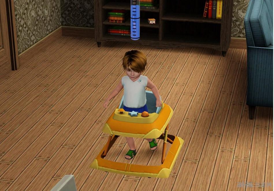模拟人生3婴儿学步车MOD截图0