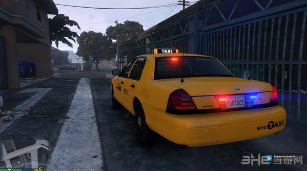 侠盗猎车手5纽约CVPI卧底出租车MOD截图2