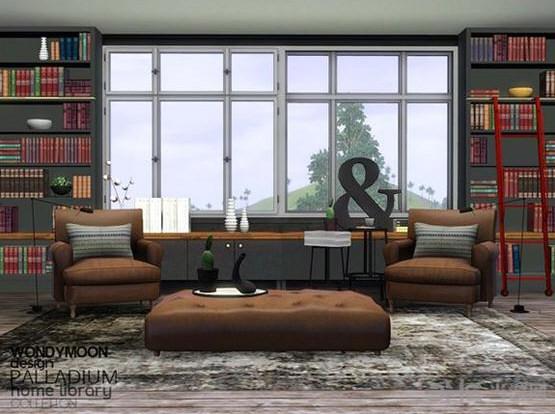 模拟人生3书房MOD截图1