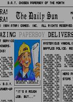 送报男孩(Paperboy)街机版