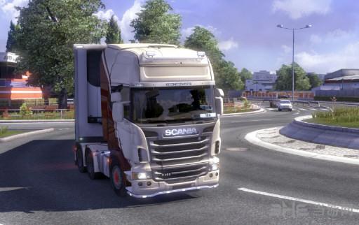 欧洲卡车模拟2 iPhone6手机内饰MOD截图0