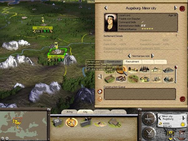 罗马全面战争侠义骑士截图1