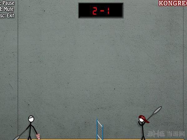 火柴人打羽毛球2截图2