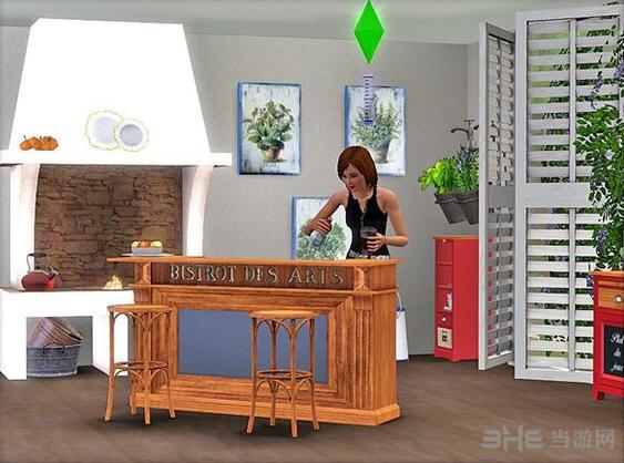 模拟人生3饭厅MOD截图2