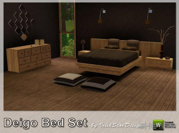 模拟人生3木质卧室MOD截图0