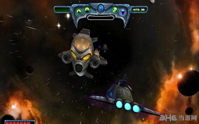 太阳爆裂:星际战机截图3
