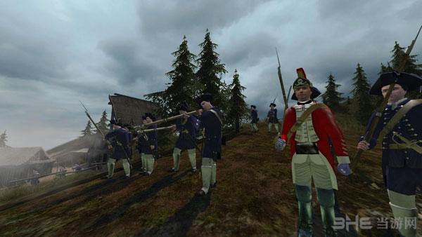 骑马与砍杀1755法国印第安之战截图2