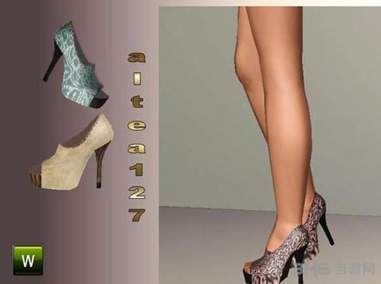 模拟人生3漏趾高跟鞋MOD截图0