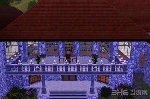 模拟人生3豪华城堡别墅MOD截图0