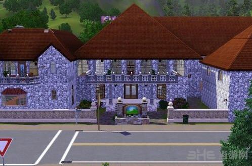 模拟人生3豪华城堡别墅MOD截图1