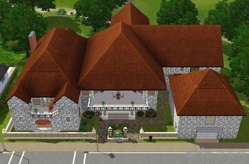 模拟人生3豪华城堡别墅MOD截图2