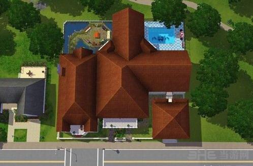 模拟人生3豪华城堡别墅MOD截图4