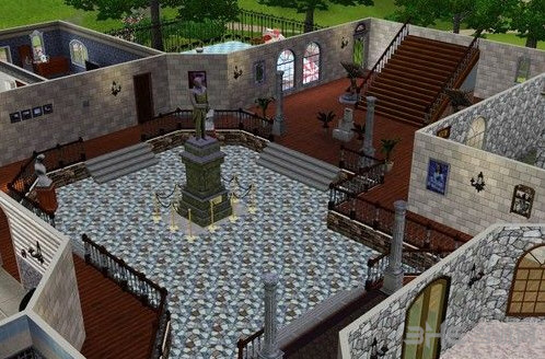 模拟人生3豪华城堡别墅MOD截图3
