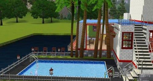 模拟人生3水上别墅MOD截图0