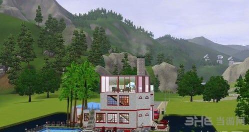 模拟人生3水上别墅MOD截图2