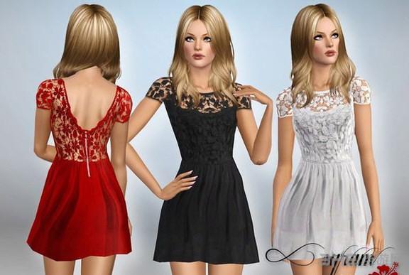 模拟人生3一组Sexy服装MOD截图1