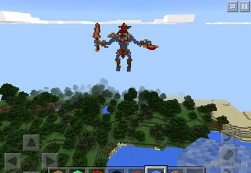 玩家在《我的世界》中自制dota2英雄