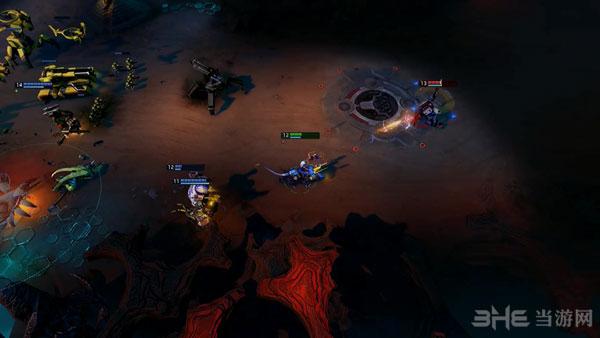 超新星战斗演示视频截图2