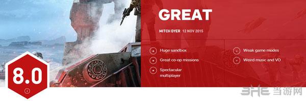 星球大战前线IGN评分1