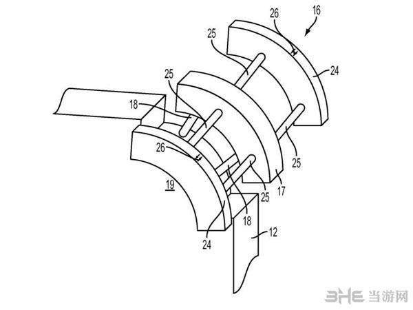 苹果iPhone减震专利2