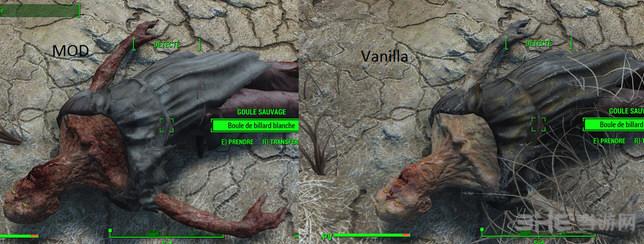 辐射4更好的僵尸材质MOD截图0