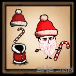 饥荒圣诞老人套装MOD截图0