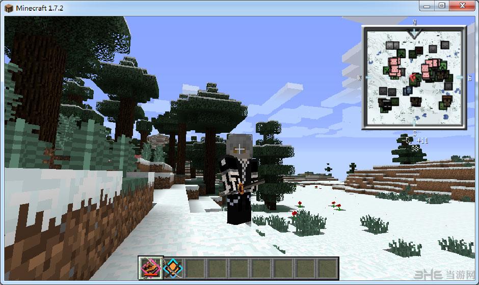 我的世界1.7.2暮色拔刀剑整合包截图0