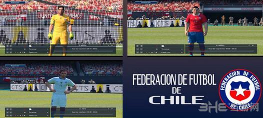 实况足球2016智利国家队球衣补丁截图0
