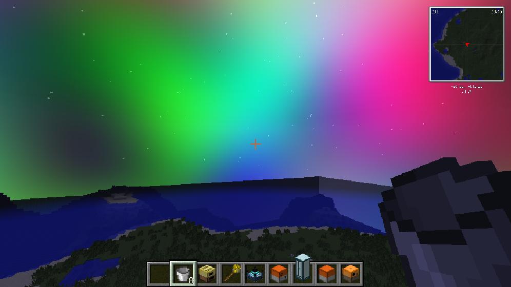 我的世界1.7.10彩色我的天空MOD截图0