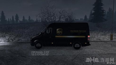 欧洲卡车模拟2梅赛德斯奔驰凌特MOD截图1
