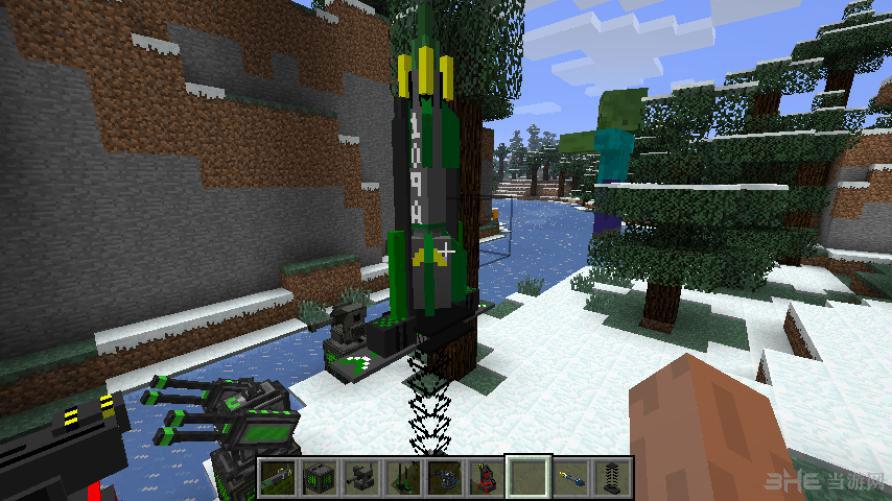 我的世界1.5.2导弹炮塔整合包截图3