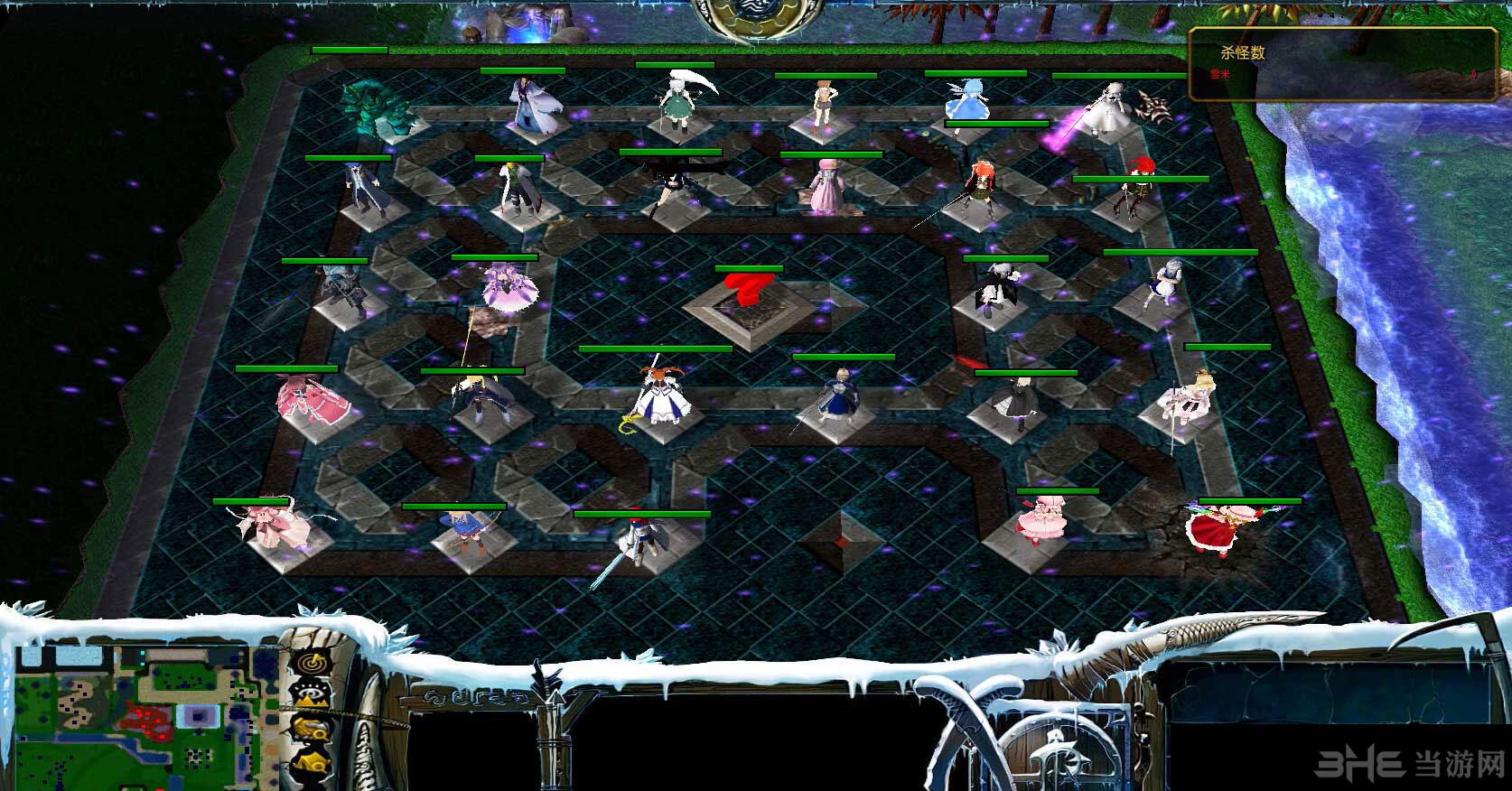 魔兽争霸3冰封王座校园修神录II异变截图0