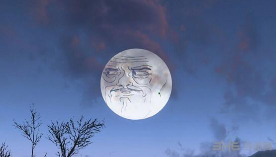 辐射4暴走漫画恶搞月亮材质mod截图0