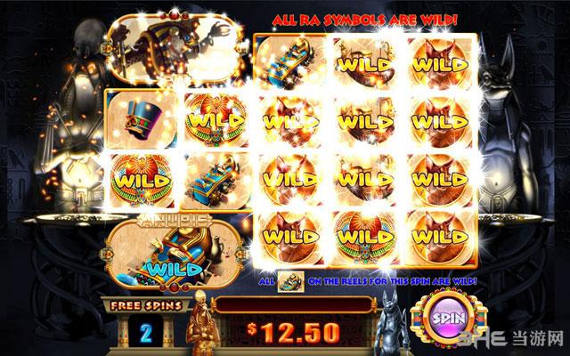 赌机游戏:斯巴达克斯截图2